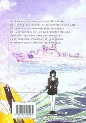 Umizaru, L'Ange Des Mers T.1 ; Umizaru, L'Ange Des Mers T.1 - 4ème de couverture - Format classique