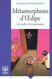 Metamorphose D'Oedipe - Intérieur - Format classique