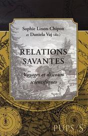 Relations savantes - Intérieur - Format classique