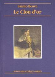 Clou D'Or (Le) - Couverture - Format classique