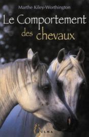 Le comportement des chevaux - Couverture - Format classique