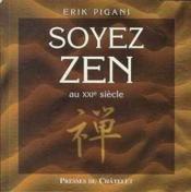 Soyez zen - Couverture - Format classique