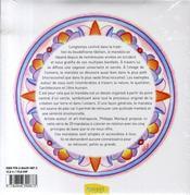 L'harmonie par les mandalas - 4ème de couverture - Format classique