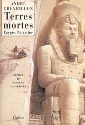 Terres Mortes Egypte Palestine - Intérieur - Format classique