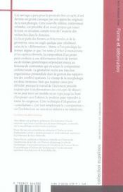 Forme Et Deformation Des Objets Architecturaux - 4ème de couverture - Format classique