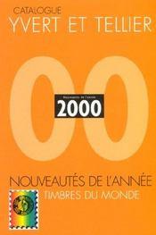 Catalogue mondial des nouveautés 2000 ; tous les timbres émis en 2000 - Intérieur - Format classique