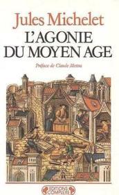 L'Agonie Du Moyen-Age - Couverture - Format classique