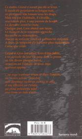 Grand Et Gros - 4ème de couverture - Format classique