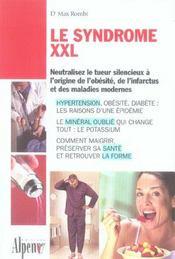 Le syndrome XXL - Intérieur - Format classique