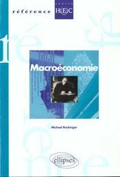 Macroeconomie - Intérieur - Format classique