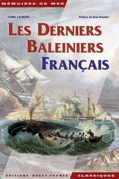 Les derniers baleiniers français - Intérieur - Format classique
