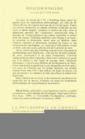 Essai sur Schelling ; le reste qui n'éclot jamais - Couverture - Format classique