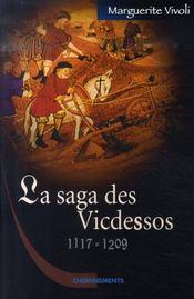 La saga des vicdessos, 1117-1209 - Intérieur - Format classique