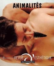 Animalités - Couverture - Format classique