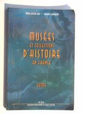 Musees et collections d'histoire de france - Intérieur - Format classique