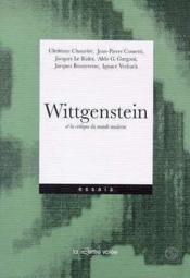 Wittgenstein Et La Critique Du Monde Moderne - Couverture - Format classique