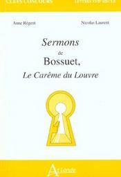 Sermons De Bossuet - Intérieur - Format classique