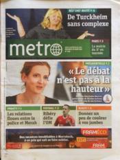 Metro Paris N°2184 du 28/03/2012 - Couverture - Format classique