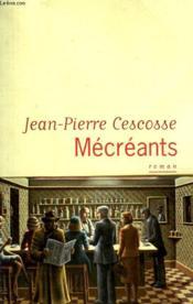 Mecreants. - Couverture - Format classique
