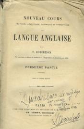 Nouveau Cours De Langue Anglaise. Premiere Partie. - Couverture - Format classique