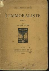 L'Immoraliste - Couverture - Format classique