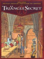 Le triangle secret t.4 ; l'évangile oublié - Intérieur - Format classique