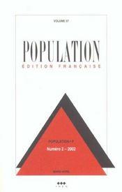 Population N 2 2002 Mars Avril - Intérieur - Format classique