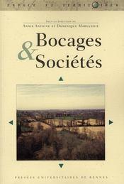 Bocages & sociétés - Intérieur - Format classique