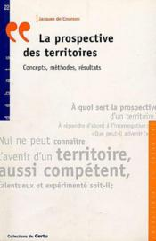 La Prospective Des Territoires: Concepts Methodes, Resultats (Debats N.22) - Couverture - Format classique