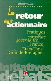 Retour De L'Actionnaire - Couverture - Format classique