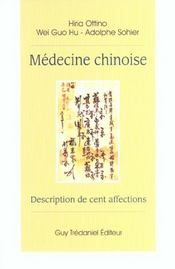 Medecine Chinoise - Intérieur - Format classique