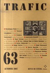 Trafic 63 - Couverture - Format classique