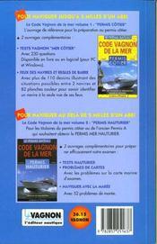 Vagnon carte mer. + 60 questions tests - 4ème de couverture - Format classique