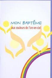 Mon Bapteme Aux Couleurs De L'Arc-En-Ciel - Intérieur - Format classique