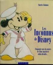 Disney Inconnus - Couverture - Format classique
