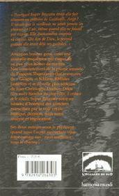 Anges a tuer, rue paradis - 4ème de couverture - Format classique