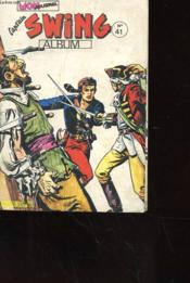 Capt'Ain Swing Album N° 41 Comprenant Les Mensuels Des N°153 A 155 - Couverture - Format classique