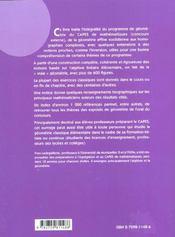Geometrie Pour Le Capes De Mathematiques - 4ème de couverture - Format classique