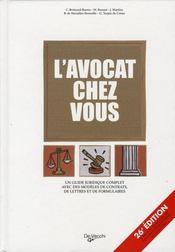 L'avocat chez vous (26e édition) - Intérieur - Format classique