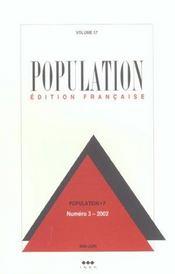 Population N 3 2002 Mai Juin - Intérieur - Format classique