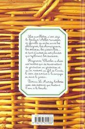 La Cuisine Des Cueillettes - 4ème de couverture - Format classique