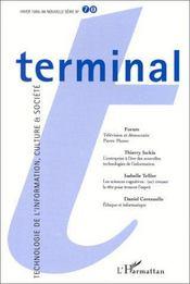 Terminal 70 - Couverture - Format classique