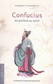 Confucius, du profane au sacré - Intérieur - Format classique