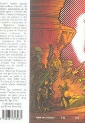 Agent de l'empire terrien - 4ème de couverture - Format classique