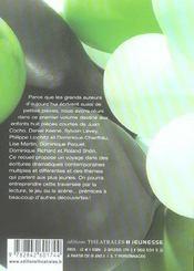 Court Au Theatre 1 - 4ème de couverture - Format classique