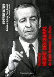 Monsieur Hubert Deschamps - Couverture - Format classique