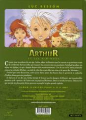 Arthur et les minimoys - 4ème de couverture - Format classique
