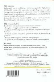 Les Fleurs Du Mal De Ch. Baudelaire - 4ème de couverture - Format classique