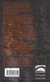 Tueur d'aborigenes - 4ème de couverture - Format classique