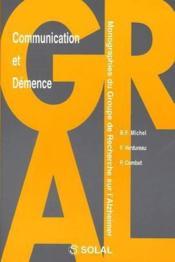 Commnunication Et Demence - Couverture - Format classique